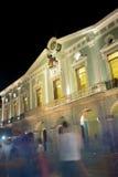 历史政府宫殿在梅里达,墨西哥 图库摄影