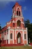 历史教会尤加坦墨西哥 免版税库存照片