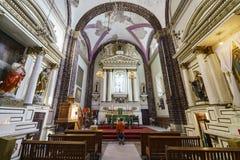 历史教会- Iglesia De La Salud 免版税库存图片