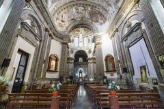 历史教会- Iglesia de Nuestra夫人de洛雷托省 库存照片