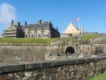 历史斯特灵城堡,苏格兰,英国 库存图片