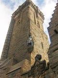 历史斯特灵城堡,苏格兰,英国 免版税库存照片