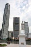 历史新加坡 免版税库存照片