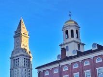 历史波士顿 免版税库存照片