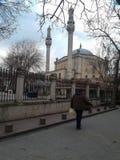 历史清真寺Kasimpasa伊斯坦布尔 库存图片