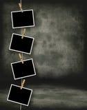 历史照片模板 免版税库存图片