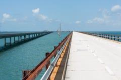 历史的七英里桥梁 免版税库存图片