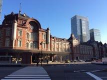 历史的东京站 免版税图库摄影