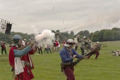 历史的中世纪战争 库存图片