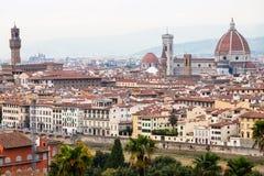 历史的中心佛罗伦萨市 免版税库存图片