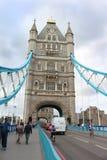 历史的伦敦桥 免版税库存图片