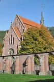 历史的修道院站点Hirsau 免版税库存图片