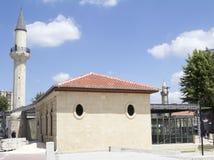 历史的先知丹尼尔清真寺和musem 图库摄影