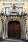 历史的入口门道入口在格拉茨 免版税库存照片