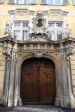 历史的入口门道入口在格拉茨 库存照片