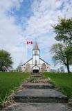 历史的加拿大教会 库存照片