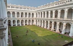 历史的印地安博物馆哥特式建筑大厦在加尔各答,印度 图库摄影
