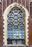 历史的哥特式窗口 库存照片