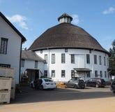 历史的圆的谷仓和农厂市场在葛底斯堡, PA 库存照片
