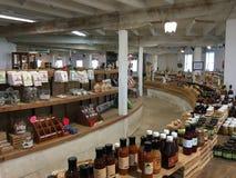 历史的圆的谷仓和农厂市场在葛底斯堡, PA 图库摄影