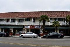 历史的城堡剧院Carpinteria,加利福尼亚, 2 免版税图库摄影