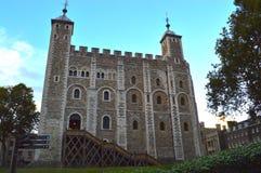 历史的城堡在伦敦,英国 免版税库存照片