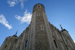 历史的城堡在伦敦 免版税库存照片