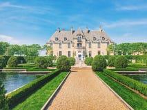 历史的城堡在长岛,纽约州 免版税库存图片