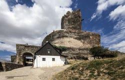 历史的城堡在Bolkow,波兰 免版税库存图片