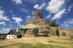历史的城堡在Bolkow,波兰 免版税库存照片