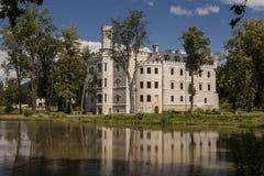 历史的城堡在Karpniki,波兰 库存照片