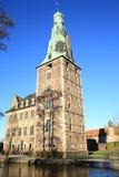 历史的城堡拉埃斯费尔德在西华里亚,德国 库存图片