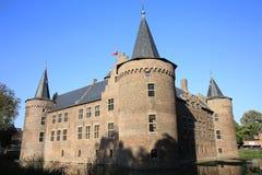 历史的城堡海尔蒙德,荷兰 免版税库存图片