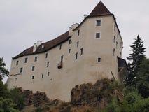 历史的城堡Karlstein 免版税库存图片