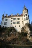 历史的城堡Meysembourg在卢森堡 库存照片