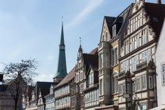 历史的城市hameln德国 库存图片