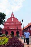 历史的基督教会Melaka 免版税库存照片