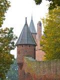 历史的堡垒塔楼 免版税图库摄影