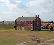 历史的堡垒紧抱国家公园 库存图片