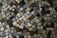 历史的多彩多姿的拼花地板关闭了  免版税库存照片