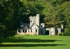 历史的大地主城堡克利夫兰Metroparks威洛比小山俄亥俄 库存图片