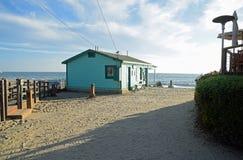 历史的家在水晶小海湾国家公园 库存图片