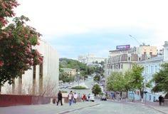 历史的市中心 库存图片
