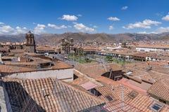 历史的市库斯科,秘鲁 免版税库存照片