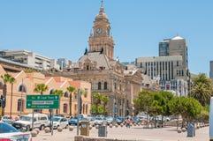 历史的市政厅在开普敦,南非 免版税库存照片