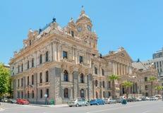 历史的市政厅在开普敦 图库摄影