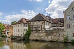 历史的市琥珀,巴伐利亚,德国的自由州 库存照片