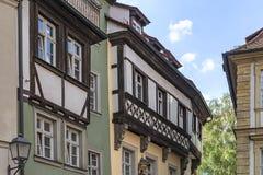 历史的市琥珀,巴伐利亚,德国的自由州 库存图片