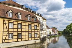 历史的市琥珀,巴伐利亚,德国的自由州 免版税库存图片