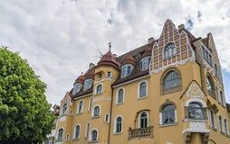 历史的市琥珀,巴伐利亚,德国的自由州 免版税库存照片